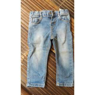 Zara Skinny Jeans For Baby 6 Month-12 Month