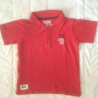 OSHKOSH Red Polo Shirt