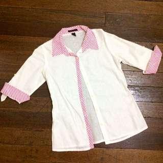 Kisses & Co Linen 3/4 Sleeves