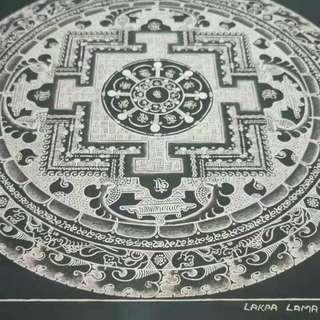 西藏純手工唐卡