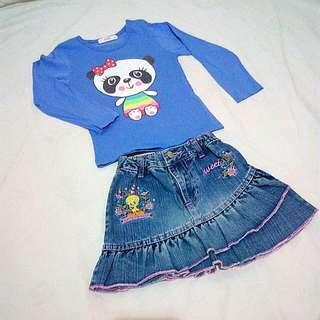 Top & Skirt Set