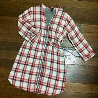 Kisses & Co Buttoned Dress