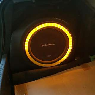Rocksford Sub Woofer & Amplifier