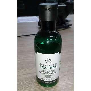 FREE ONGKIR Jabodetabek - The Body Shop Tea Tree Toner