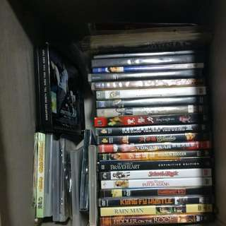 A Box Of DVDs