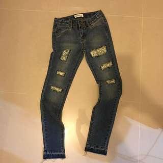 Roxy Girl Jeans Size 10
