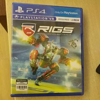 PS4 VR Game RIGS