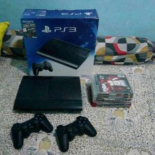 REPRICED PS3 (500gb) all games included