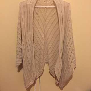 Sandy Coloured Cardigan