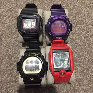 Authentic G-shock Watches