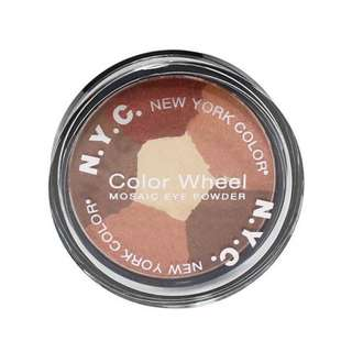 NYC New York Color Wheel Mosaic Eye Powder Eyeshadow - #823B Brown Eyed Girl