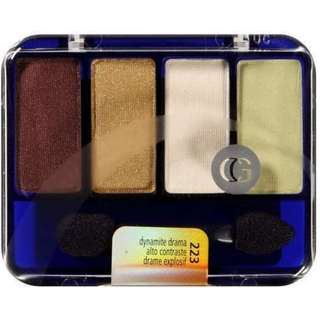 CoverGirl 4 Colors Quad EYESHADOW #223 DYNAMITE DRAMA