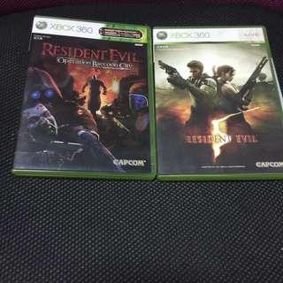 xbox360 Resident Evil
