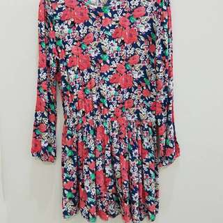 Dress Panjang 3/4
