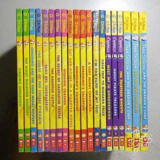 Geronimo Stilton Paperbacks For SALE!