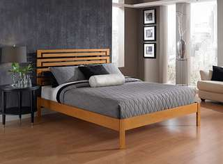 Naima Full Size Stylish Bed Mega Sale Offer P9.5k
