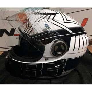 Motorcycle Helmet HNJ Dual visor Size Standard Large