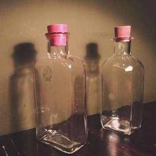 老玻璃密封罐
