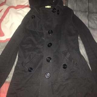Black Avocado Winter Coat