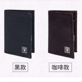 7-11時尚聯名porter護照套(咖啡色)