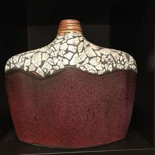 Decorative Clay Vase
