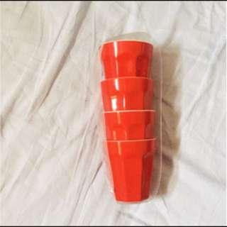 🚚 出賣荷蘭系列 紅色咖啡杯組 (四入)