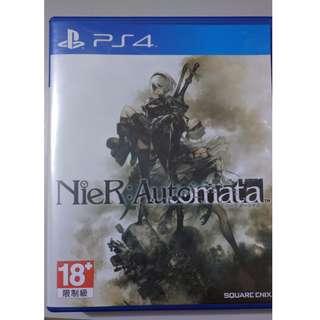 Nier Automata, Horizon Zero Dawn - Used PS4 Games