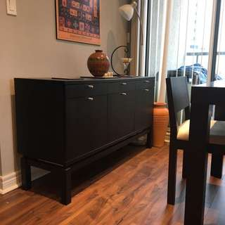 Espresso Side Board/buffet/cabinet