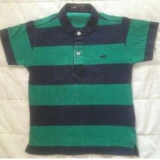CROCODILE Stripes Polo Shirt