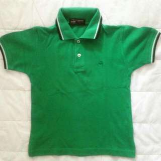 CROCODILE Green Polo Shirt