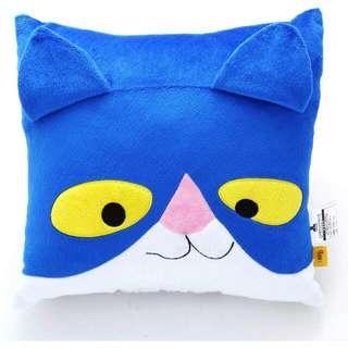幾米迷的最愛💪藍點貓方枕