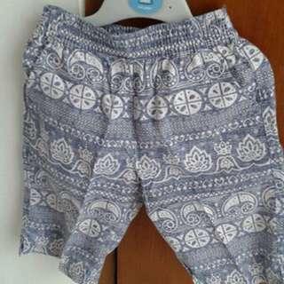 Celana Pantai Size 3-4 Tahun
