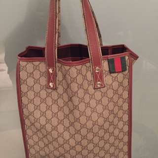 Authentic Beautiful Gucci Tote Bag