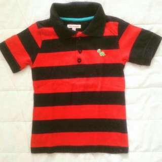 BLUEZOO Stripes Polo Shirt