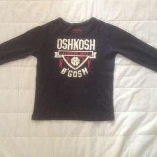 OSHKOSH Navy Blue Long Sleeved