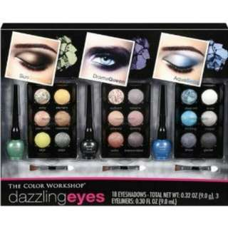 The Color Workshop 'Dazzling Eyes' 24 Piece eye color collection