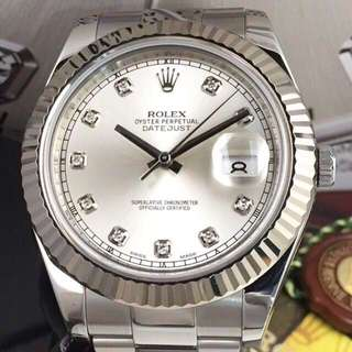 Rolex Datejust II Diamond index