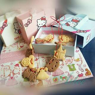 handmade西餅 *造型餅乾 禮盒版*(收涎/彌月/婚慶)