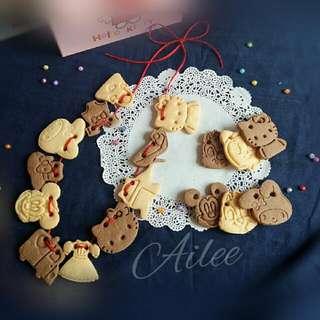 handmade西餅 *造型餅乾 簡裝版*(收涎/彌月/婚慶)