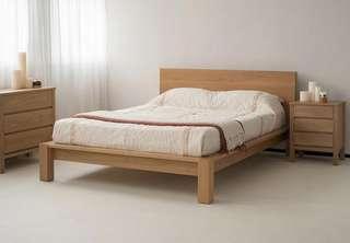 Madack Bedroom Set Side table Chest Drawer Bed Frame Mega Sale P22.5k