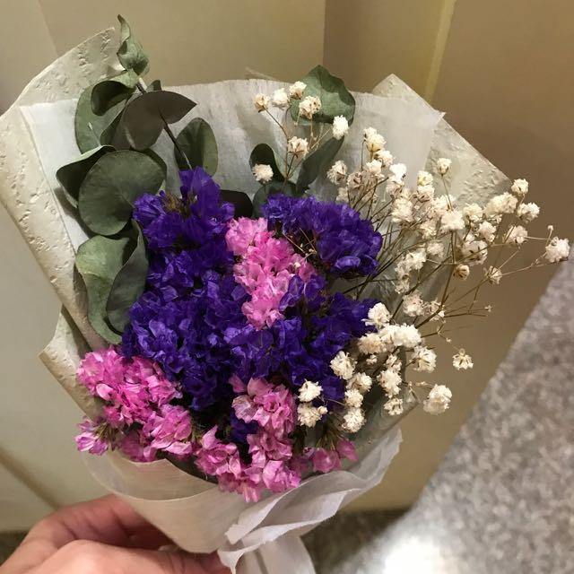 迷你乾燥花