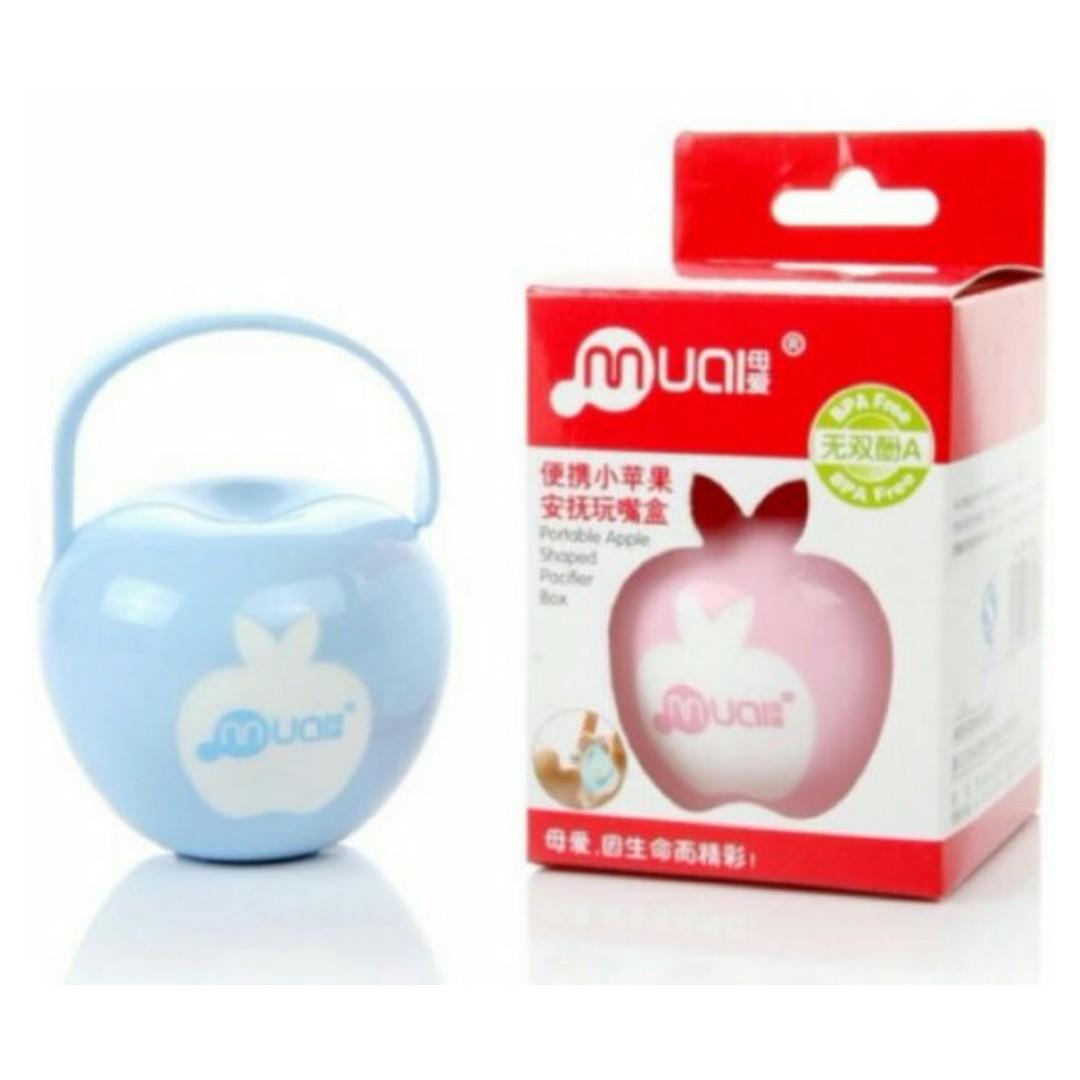 小蘋果奶嘴盒 安撫奶嘴收納盒 香草奶嘴也適用