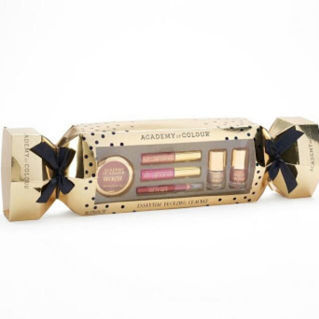 Academy Of Colour Essential Bronzing Cracker Polish/Bronzer/Lip Gloss/Eye Crayon