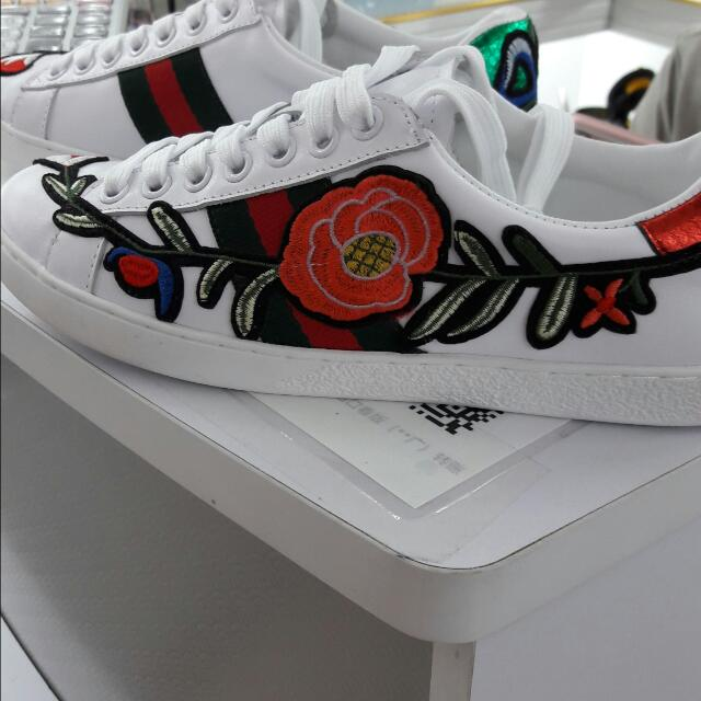 3d407b859 Ace Embroidered Low-top Sneaker (Gucci), Men's Fashion, Footwear on ...