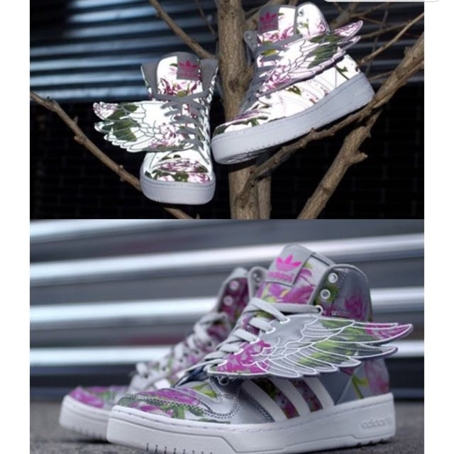 521746ba69e2 Adidas Jeremy Scott JS Wings Floral