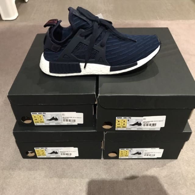 Adidas NMD XR1 Navy Blue