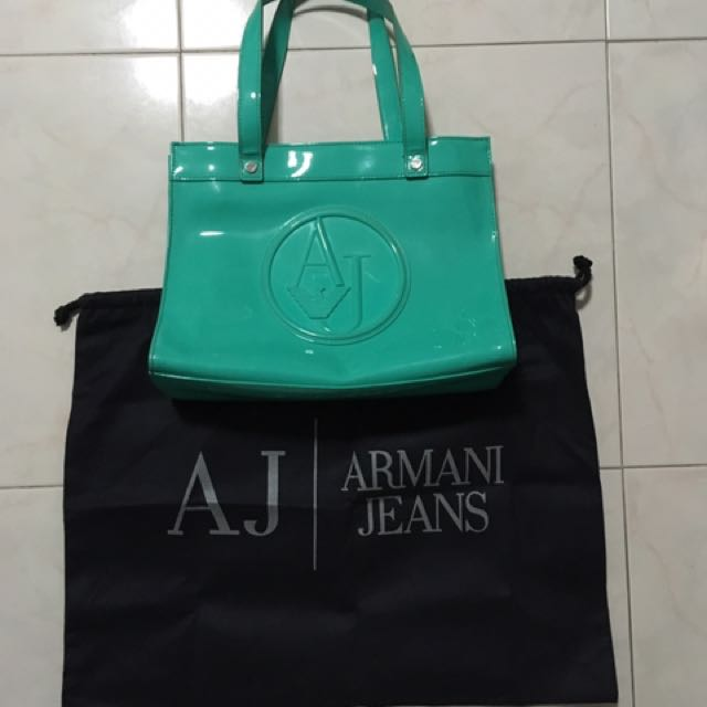 Authentic Armani Jeans (AJ) Bag - Limited Edition (Hong Kong ... 1b797881491