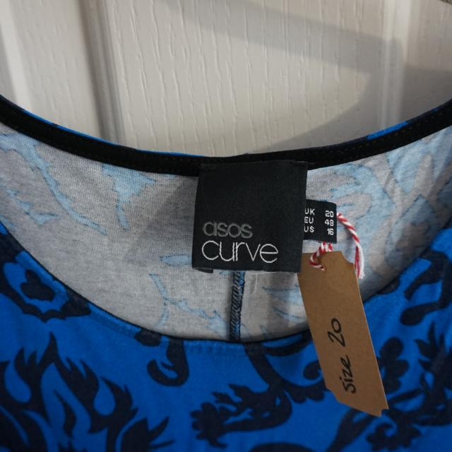 Asos Curve Swing Dress Size 20 Plus Size