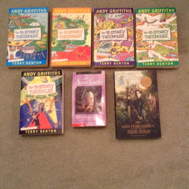 Assorted Children's Novels