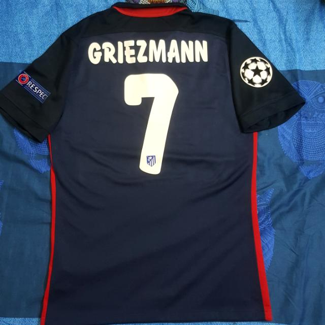 buy online 84c8e ec091 Atletico Madrid Away Jersey + GRIEZMANN 7